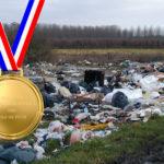 Les auteurs de dépôts sauvages vont recevoir la Médaille Départementale des Fils de Pute